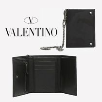 VALENTINO Camouflage Nylon Folding Wallets