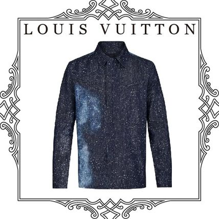 Louis Vuitton Shirts Long Sleeves Cotton Shirts