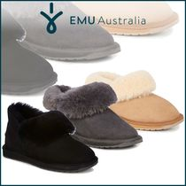 EMU Australia Rubber Sole Casual Style Suede Plain Ankle & Booties Boots