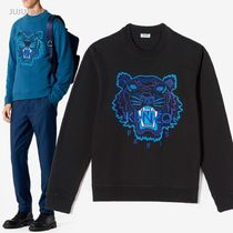 KENZO Long Sleeves Cotton Special Edition Sweatshirts