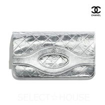 CHANEL Leather Clutches
