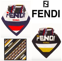 FENDI Cotton Lightweight Scarves & Shawls