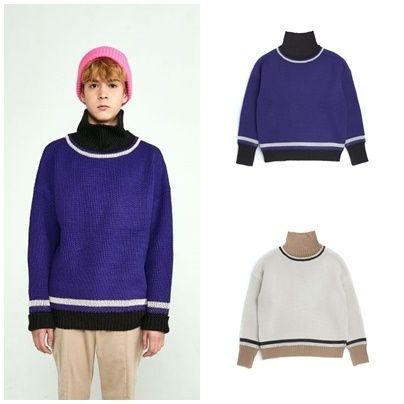Street Style Long Sleeves Knits & Sweaters