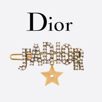 Christian Dior JADIOR Barettes Casual Style Clips