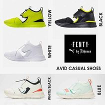 PUMA FENTY Street Style Collaboration Low-Top Sneakers