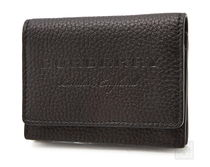 Burberry Unisex Plain Leather Card Holders
