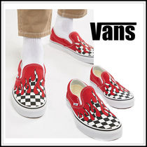 VANS SLIP ON Other Check Patterns Loafers & Slip-ons