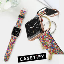 casetify Casual Style Leather Watches