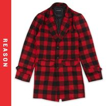 REASON Other Check Patterns Chester Coats