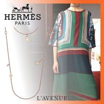 HERMES Coin Chain Necklaces & Pendants