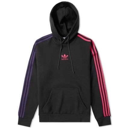 adidas Hoodies Pullovers Stripes Long Sleeves Cotton Hoodies 3