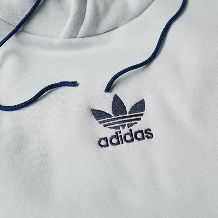 adidas Hoodies Pullovers Stripes Long Sleeves Cotton Hoodies 7