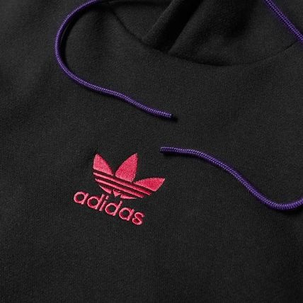 adidas Hoodies Pullovers Stripes Long Sleeves Cotton Hoodies 11