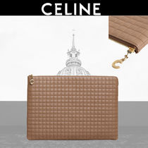 CELINE Calfskin Plain Wallets & Small Goods