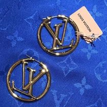 Louis Vuitton Louise Hoop Earrings
