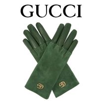 GUCCI Blended Fabrics Plain Leather Home Party Ideas