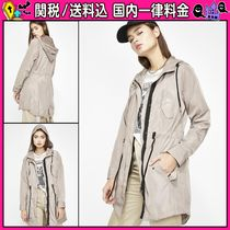 DOLLS KILL Casual Style Plain Medium Parkas