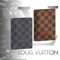 Louis Vuitton DAMIER GRAPHITE Unisex Passport Cases