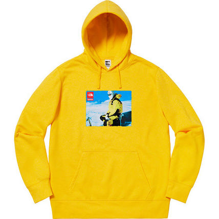 Supreme Hoodies Unisex Street Style Collaboration Hoodies 3