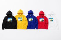 Supreme Hoodies Unisex Street Style Collaboration Hoodies 7