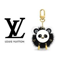 Louis Vuitton Chain Leather Keychains & Bag Charms
