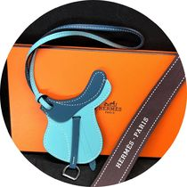 HERMES petit h Bi-color Leather Home Party Ideas Card Holders