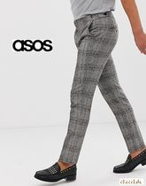 ASOS Other Check Patterns Street Style Skinny Fit Pants