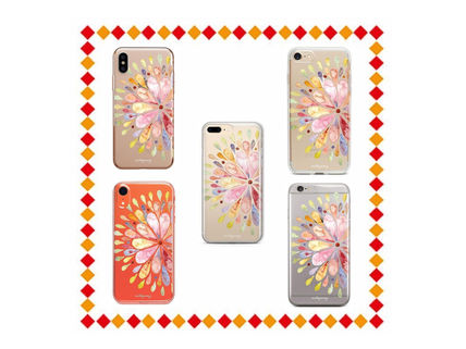 Flower Patterns Street Style Smart Phone Cases