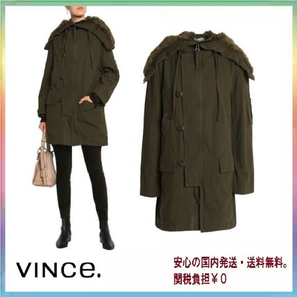 Casual Style Street Style Plain Medium Outerwear