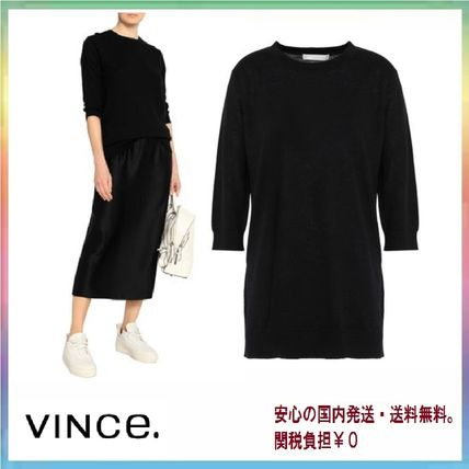 Plain Long Elegant Style Sweaters