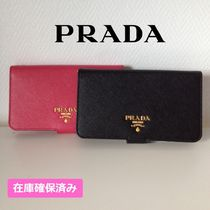 PRADA Leather Smart Phone Cases