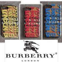 Burberry Tartan Unisex Street Style Smart Phone Cases