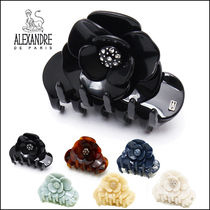 Alexandre de Paris Flower Elegant Style Hair Accessories