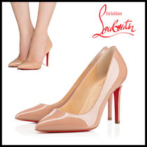 Christian Louboutin Pigalle Follies Leather High Heel Pumps & Mules