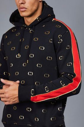 CRIMINAL DAMAGE Hoodies Pullovers Monogram Street Style Long Sleeves Cotton Hoodies 4