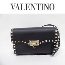 VALENTINO Casual Style Unisex Calfskin Home Party Ideas Party Bags