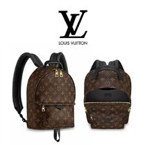 Louis Vuitton Monogram Canvas Elegant Style Backpacks