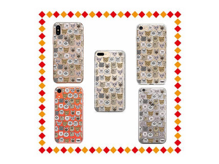 Street Style Other Animal Patterns Smart Phone Cases