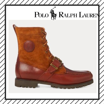 19AW Wing Tip Plain Leather Boots