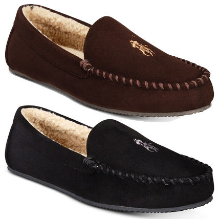 Moccasin Suede Loafers & Slip-ons