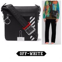 Off-White Street Style Leather Messenger & Shoulder Bags