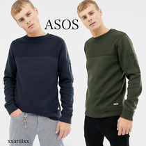 ASOS Crew Neck Pullovers Blended Fabrics Street Style
