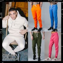 CRIMINAL DAMAGE Sweat Street Style Plain Joggers & Sweatpants