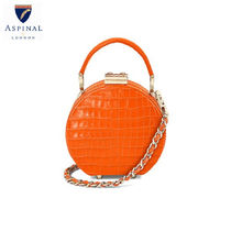 Aspinal of London 2WAY Other Animal Patterns Leather Elegant Style Crossbody