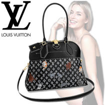 Louis Vuitton ALMA Monogram Canvas Blended Fabrics Other Animal Patterns