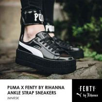 PUMA FENTY Casual Style Street Style Collaboration Low-Top Sneakers