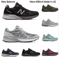 New Balance 990 Unisex Street Style Sneakers