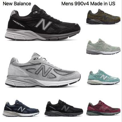 the latest 497d4 4ae26 New Balance 990 Unisex Street Style Sneakers (990v4)