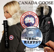 CANADA GOOSE ROSSCLAIR Fur Street Style Down Jackets