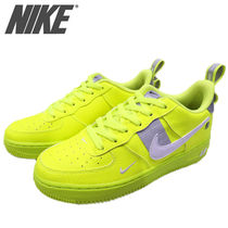 Nike AIR FORCE 1 Casual Style Street Style Leather Low-Top Sneakers